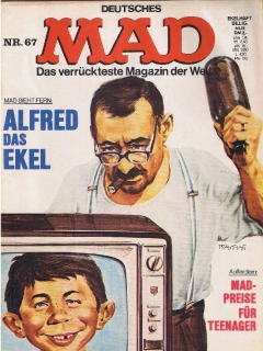 Go to MAD Magazine #67 • Germany • 1st Edition - Williams