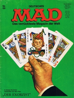 Go to MAD Magazine #69 • Germany • 1st Edition - Williams