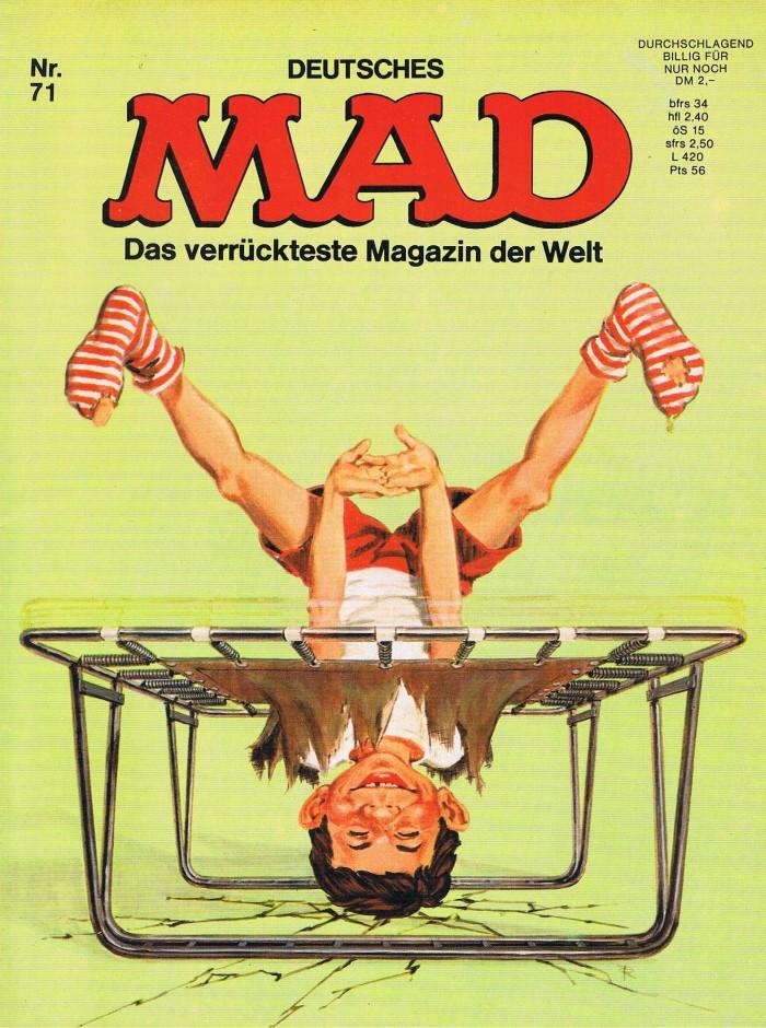 MAD Magazine #71 • Germany • 1st Edition - Williams