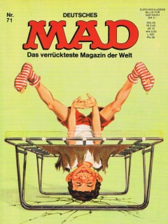 Go to MAD Magazine #71 • Germany • 1st Edition - Williams