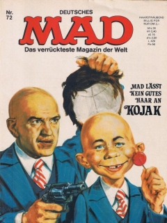Go to MAD Magazine #72 • Germany • 1st Edition - Williams