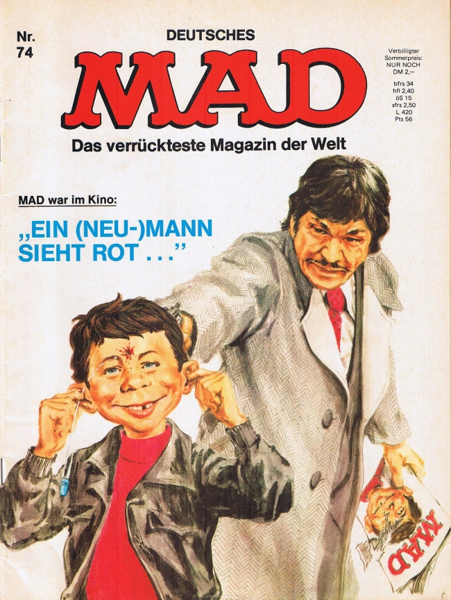 MAD Magazine #74 • Germany • 1st Edition - Williams