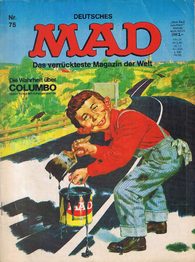 MAD Magazine #75 • Germany • 1st Edition - Williams