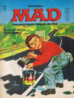 Go to MAD Magazine #75 • Germany • 1st Edition - Williams