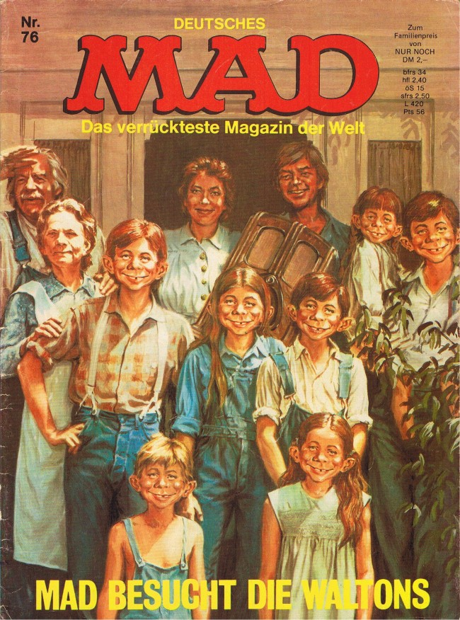 MAD Magazine #76 • Germany • 1st Edition - Williams