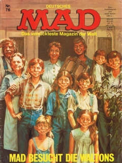 Go to MAD Magazine #76 • Germany • 1st Edition - Williams