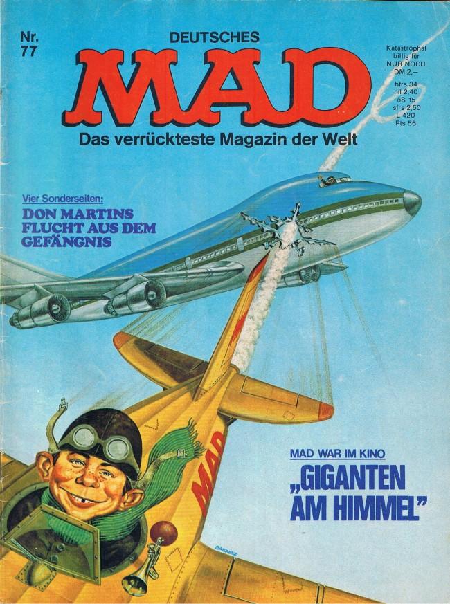 MAD Magazine #77 • Germany • 1st Edition - Williams