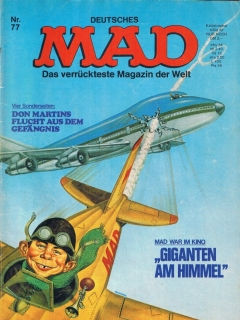 MAD Magazine #77 • Germany • 1st Edition - Williams