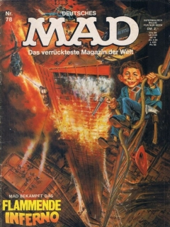 Go to MAD Magazine #78 • Germany • 1st Edition - Williams