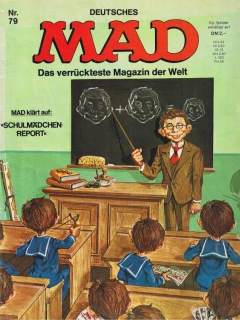 Go to MAD Magazine #79 • Germany • 1st Edition - Williams