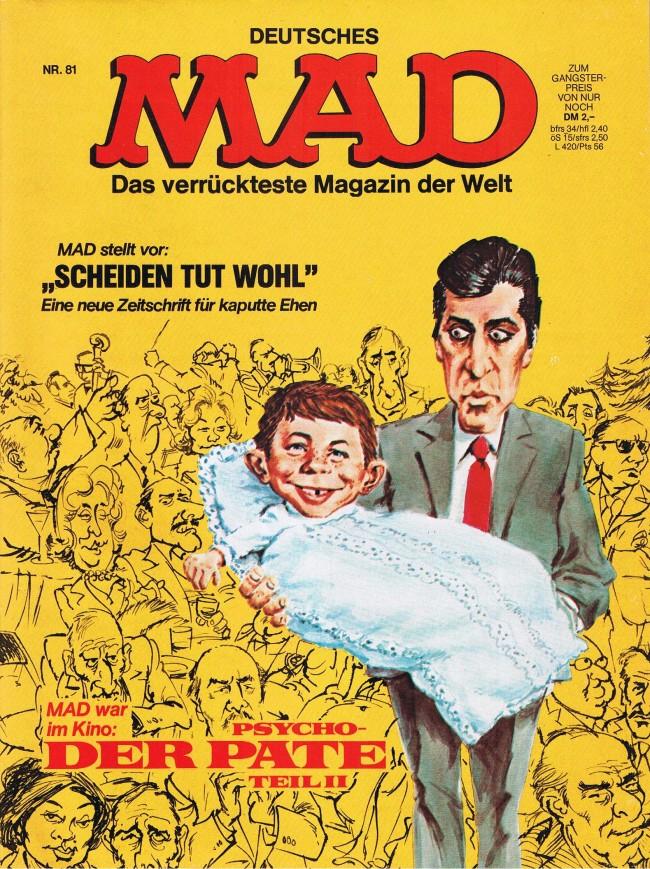 MAD Magazine #81 • Germany • 1st Edition - Williams