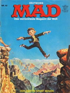 Go to MAD Magazine #82 • Germany • 1st Edition - Williams