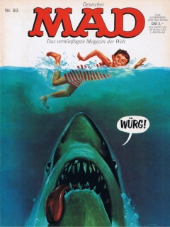 Go to MAD Magazine #83 • Germany • 1st Edition - Williams