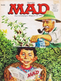 Go to MAD Magazine #84 • Germany • 1st Edition - Williams