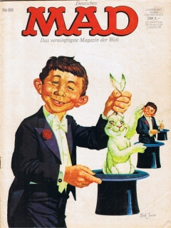 Go to MAD Magazine #86 • Germany • 1st Edition - Williams