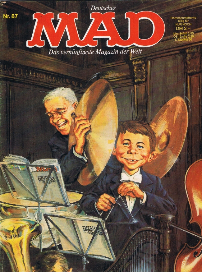 MAD Magazine #87 • Germany • 1st Edition - Williams