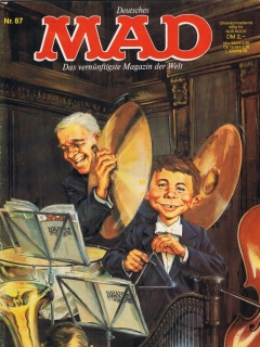 Go to MAD Magazine #87 • Germany • 1st Edition - Williams