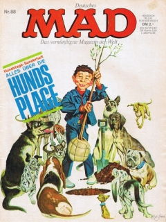 Go to MAD Magazine #88 • Germany • 1st Edition - Williams