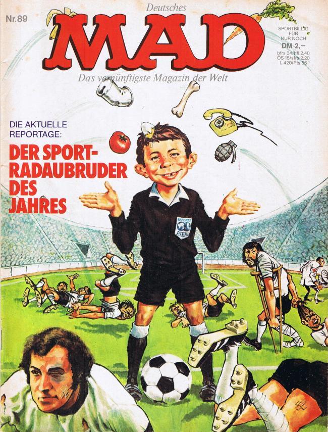 MAD Magazine #89 • Germany • 1st Edition - Williams