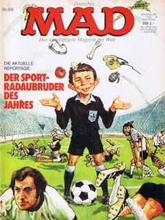 Go to MAD Magazine #89 • Germany • 1st Edition - Williams