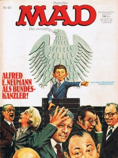 Go to MAD Magazine #90 • Germany • 1st Edition - Williams