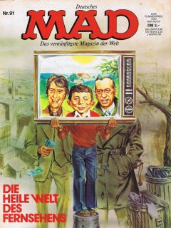 Go to MAD Magazine #91 • Germany • 1st Edition - Williams