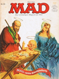 Go to MAD Magazine #92 • Germany • 1st Edition - Williams