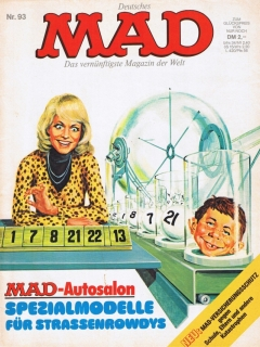 Go to MAD Magazine #93 • Germany • 1st Edition - Williams