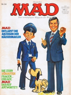Go to MAD Magazine #94 • Germany • 1st Edition - Williams