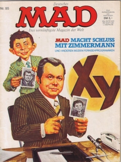 Go to MAD Magazine #95 • Germany • 1st Edition - Williams