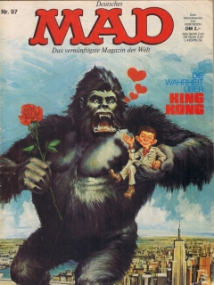 Go to MAD Magazine #97 • Germany • 1st Edition - Williams