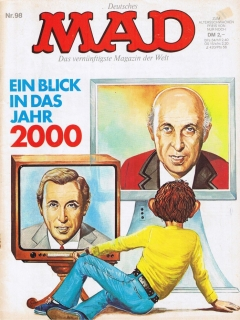 Go to MAD Magazine #98 • Germany • 1st Edition - Williams