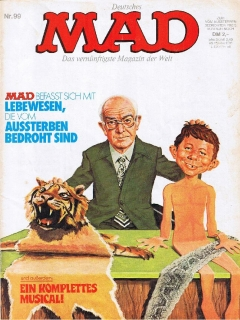 Go to MAD Magazine #99 • Germany • 1st Edition - Williams