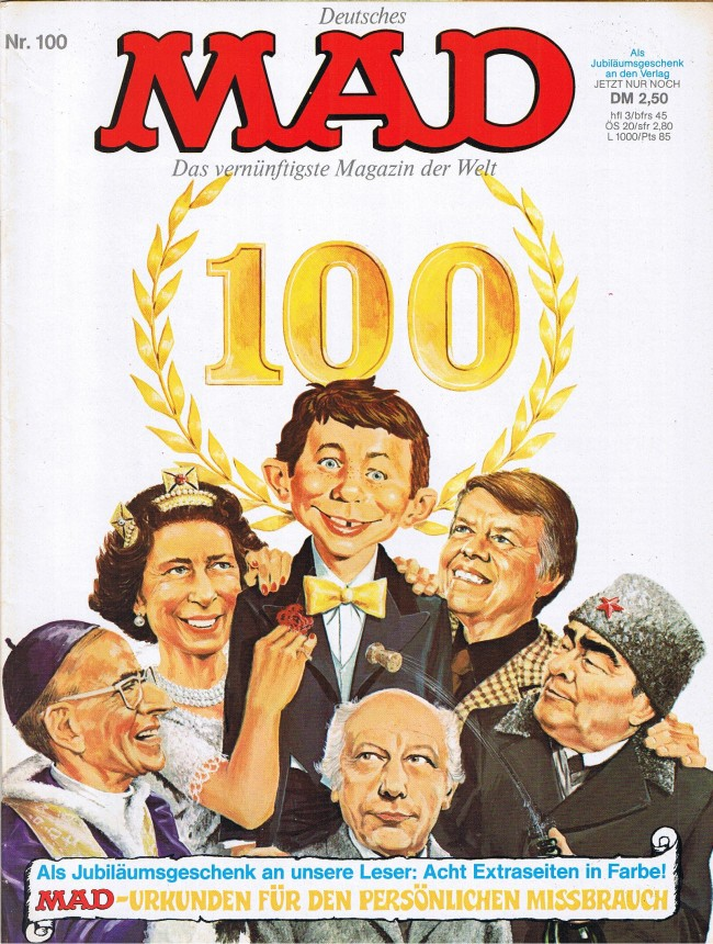 MAD Magazine #100 • Germany • 1st Edition - Williams