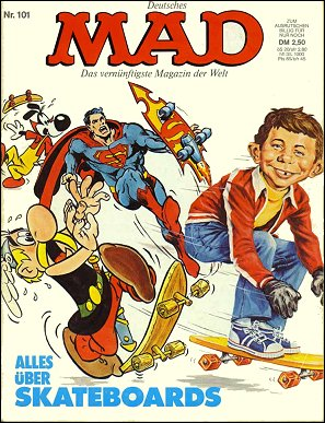 MAD Magazine #101 • Germany • 1st Edition - Williams