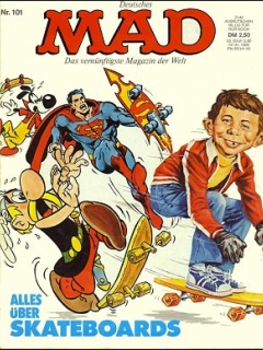 Go to MAD Magazine #101 • Germany • 1st Edition - Williams