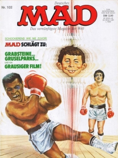 Go to MAD Magazine #102 • Germany • 1st Edition - Williams