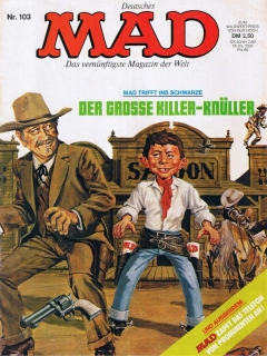 Go to MAD Magazine #103 • Germany • 1st Edition - Williams