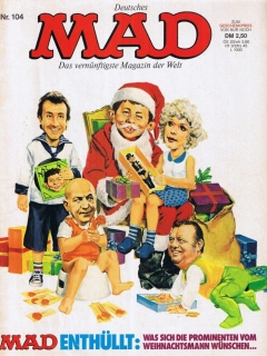 Go to MAD Magazine #104 • Germany • 1st Edition - Williams