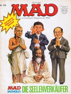 Go to MAD Magazine #105 • Germany • 1st Edition - Williams