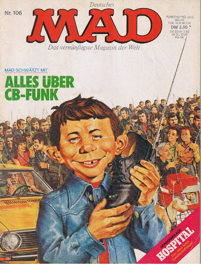 MAD Magazine #106 • Germany • 1st Edition - Williams