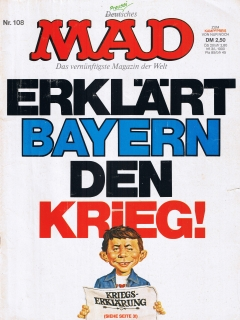 Go to MAD Magazine #108 • Germany • 1st Edition - Williams