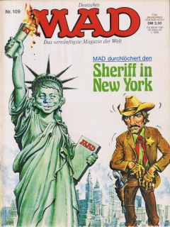Go to MAD Magazine #109 • Germany • 1st Edition - Williams