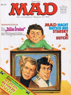 Go to MAD Magazine #111 • Germany • 1st Edition - Williams