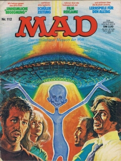 Go to MAD Magazine #112 • Germany • 1st Edition - Williams