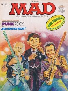 Go to MAD Magazine #113 • Germany • 1st Edition - Williams