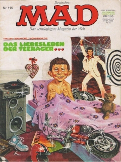 Go to MAD Magazine #115 • Germany • 1st Edition - Williams