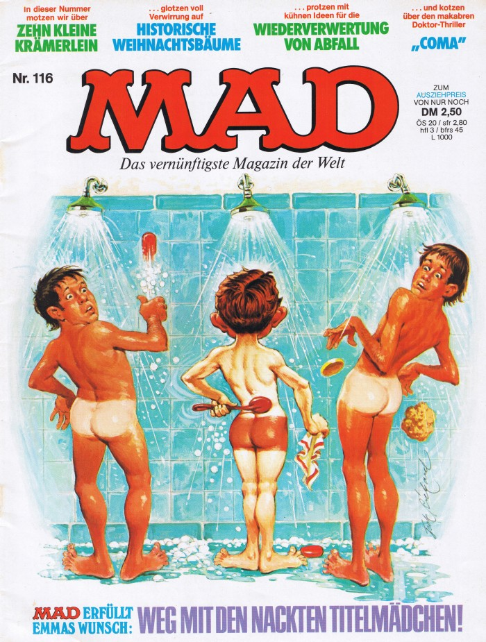 MAD Magazine #116 • Germany • 1st Edition - Williams
