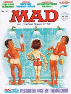 Go to MAD Magazine #116 • Germany • 1st Edition - Williams