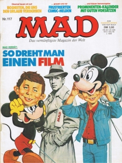 Go to MAD Magazine #117 • Germany • 1st Edition - Williams